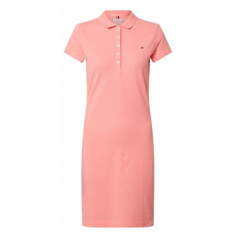 TOMMY HILFIGER Sukienka różowy pudrowy
