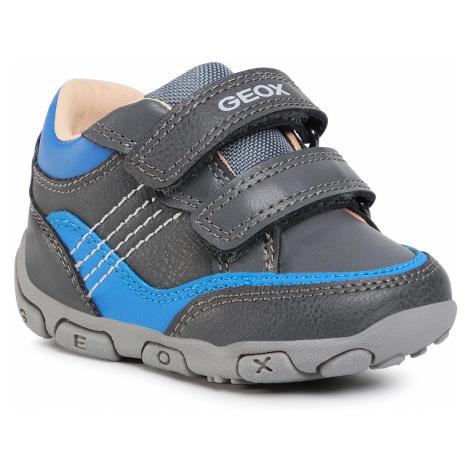 Sneakersy GEOX - B Balu'B. C B0436C 0MEBC C0071 Dk Grey/Royal