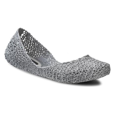 Baleriny MELISSA - Campana Papel VII Ad 31512 Silver Glitter 50711