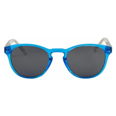 PUMA Okulary przeciwsłoneczne 'PJ0025S Sunglass KID INJECTION' srebrny / niebieski