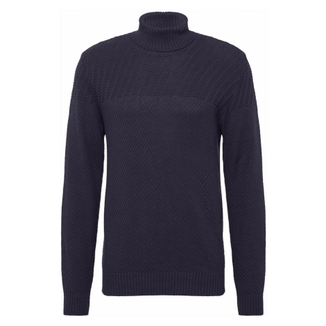Casual Friday Sweter 'Karl' granatowy Casual Friday by Blend