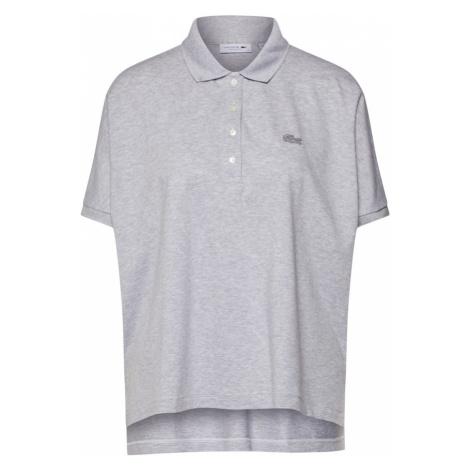 LACOSTE Koszulka srebrno-szary