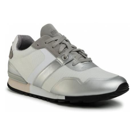 Boss Sneakersy Parkour 50412232 10218881 01 Szary Hugo Boss