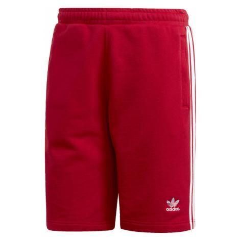 ADIDAS ORIGINALS Spodnie biały / czerwony