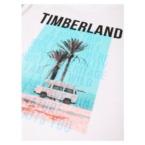 Timberland T-Shirt T25Q72 D Biały Regular Fit
