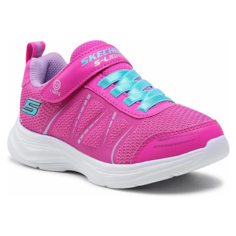 Sneakersy SKECHERS - Shimmy Brights 302302L/HTPK H.Pink