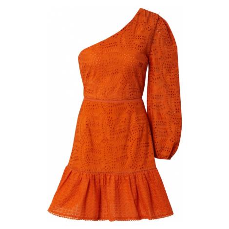 GLAMOROUS Sukienka koktajlowa pomarańczowy