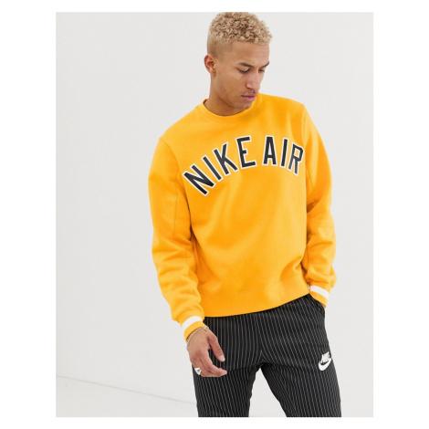 Nike Air Logo Sweatshirt Yellow