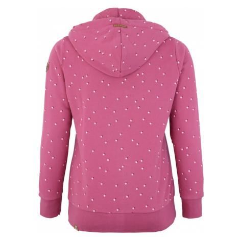 Ragwear Plus Bluza rozpinana 'CHELSEA HEARTS' różowy pudrowy