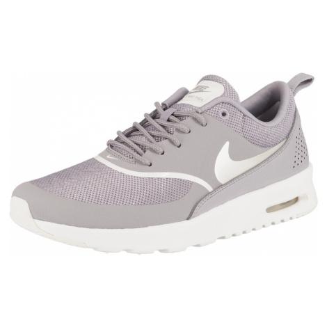 Nike Sportswear Trampki niskie 'Air Max Thea' jasnoszary / liliowy