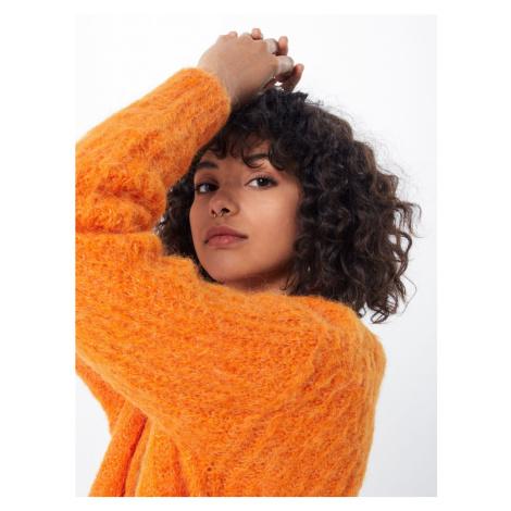 SELECTED FEMME Kardigan 'Pippa' pomarańczowy