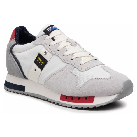 Sneakersy BLAUER - S1QUEENS01/MES White