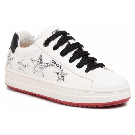 Sneakersy GEOX - J Rebecca G. B J02BDB 000BC C1000 M White