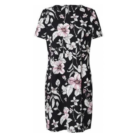 ONLY Sukienka 'POP TRASH' czarny / biały