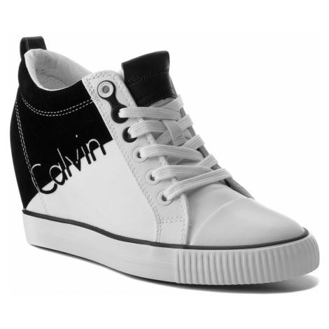 Sneakersy CALVIN KLEIN JEANS - Rory R0647 White/Black