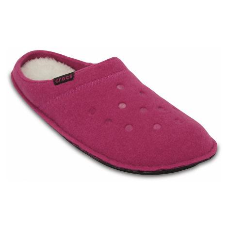 buty Crocs Classic Slipper - Candy Pink/Oatmeal