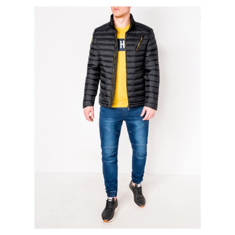Ombre Clothing Men's mid-season quilted jacket C290