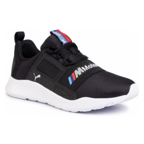 Puma Sneakersy Bmw Mms Wired Cage 306504 01 Czarny