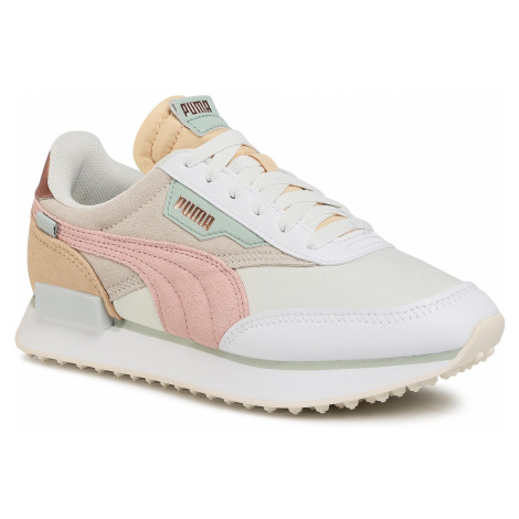 Sneakersy PUMA - Future Rider Soft Metal 374665 02 Marshmallow/Natural Vachetta