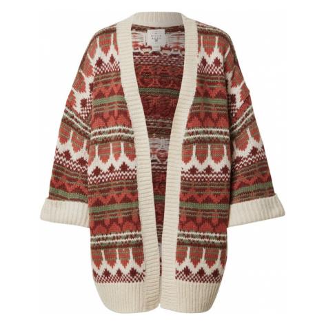 BILLABONG Płaszcz z dzianiny 'Wintersounds' czerwony / mieszane kolory