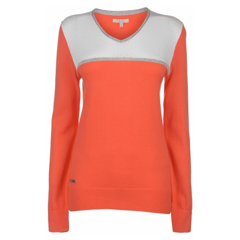Adidas V Neck Golf Sweater Ladies