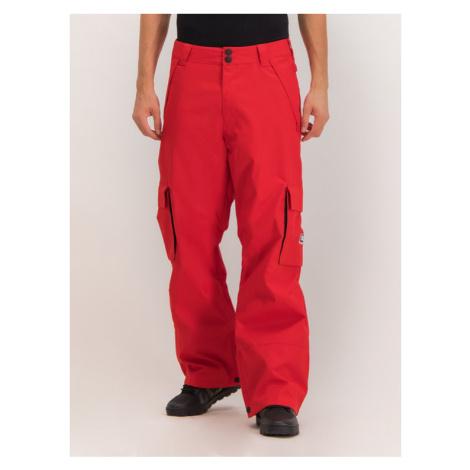 DC Spodnie snowboardowe EDYTP03047 Czerwony Regular Fit