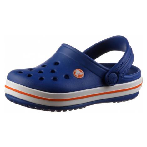 Crocs Sandały 'Crocband' niebieski / biały / czerwony