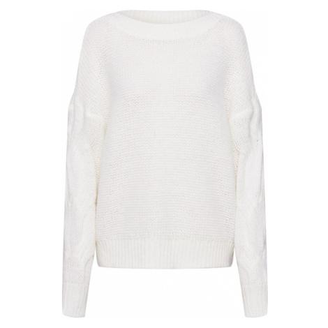 VILA Sweter 'HULDA' offwhite