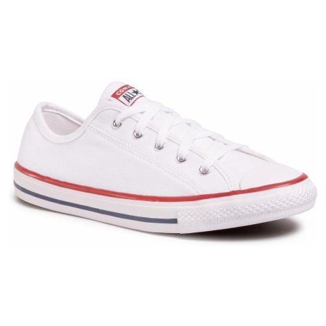 Trampki CONVERSE - Ctas Dainty Ox 564981C White/Red/Blue