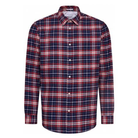 SELECTED HOMME Koszula ciemny niebieski / rdzawoczerwony