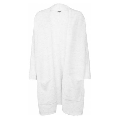 Urban Classics Kardigan oversize nakrapiany biały