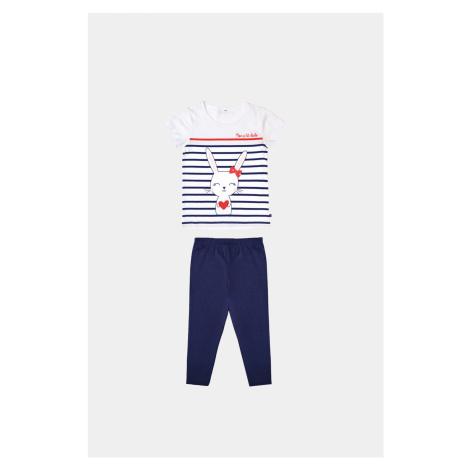 Dziewczęca piżama Buny niebieska