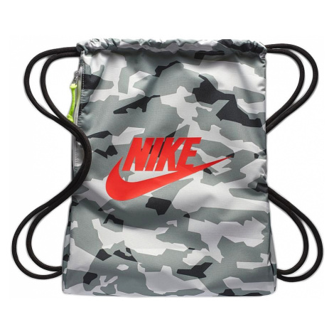 worek Nike Heritage Gymsack 1 GFX - 113/Sail/Black/Team Orange