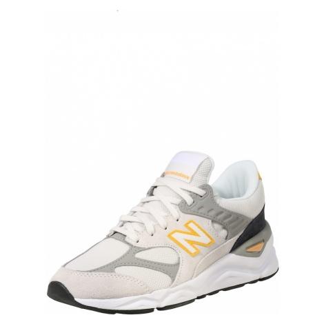 New Balance Trampki niskie 'X 90' żółty / jasnoszary / perłowo biały