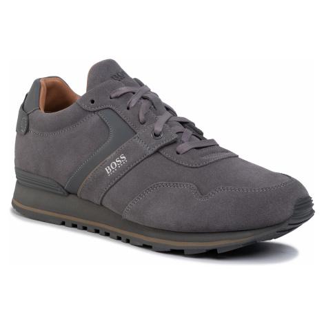 Sneakersy BOSS - Parkour 50422401 10223357 01 Medium Grey 030 Hugo Boss