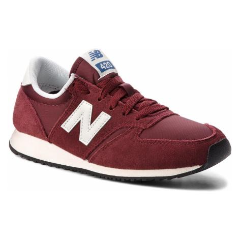 Sneakersy NEW BALANCE - U420RDW Bordowy