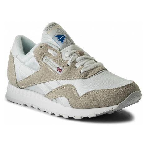 Buty Reebok - Cl Nylon 6390 White/Light Grey