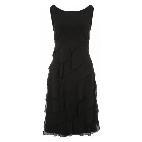 SWING Sukienka koktajlowa czarny