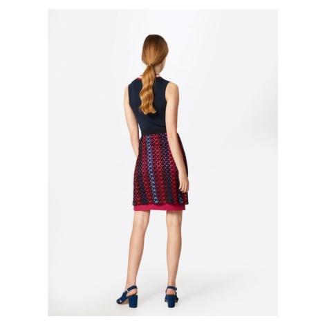 MAX&Co. Spódnica 'PODIO' niebieski / czerwony / czarny