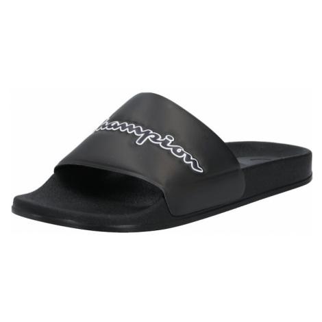 Champion Authentic Athletic Apparel Buty na plażę/do kąpieli czarny / biały