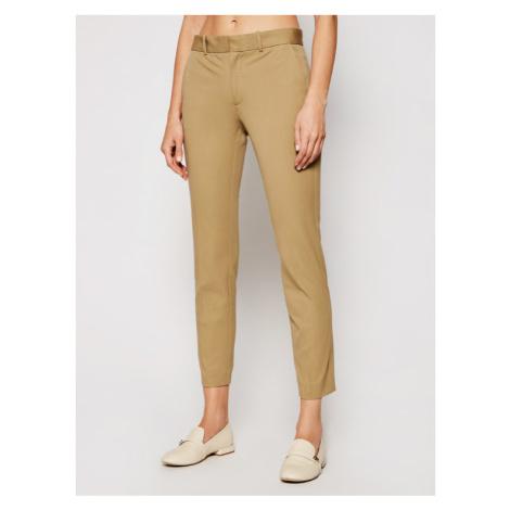 Polo Ralph Lauren Spodnie materiałowe Str 211752934003 Beżowy Slim Fit