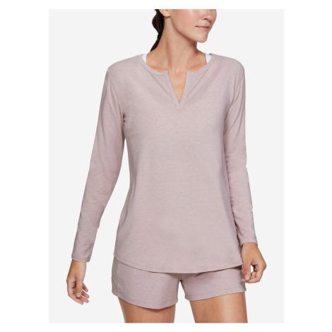 Koszulka under armour recovery sleepwear z długim rękawem