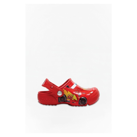Klapki Crocs Funlabcarsclgk Flame 204116-8C1 Red
