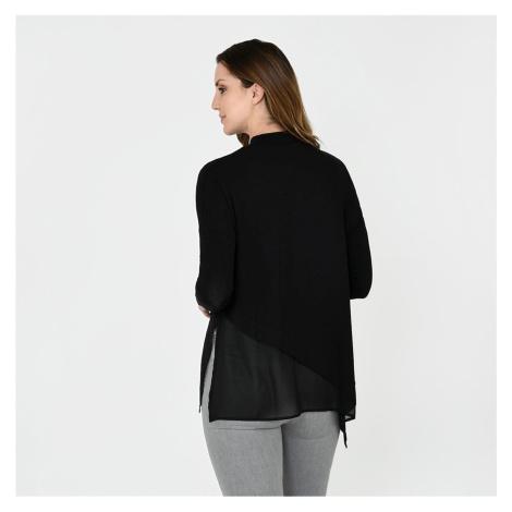 Firetrap Blackseal Asymetric Fine Knit
