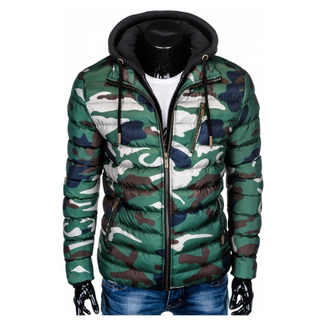 Ombre Clothing Men's winter quilted jacket C384