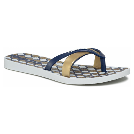 Japonki IPANEMA - Kirei Silk V Fem 82770 White/Blue/Gold 22861