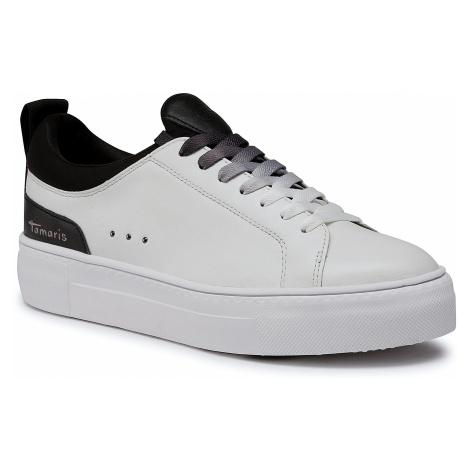 Sneakersy TAMARIS - 1-23724-25 White/Black 125