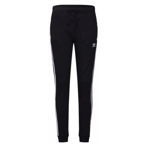 ADIDAS ORIGINALS Spodnie 'TP Cuf' czarny / biały