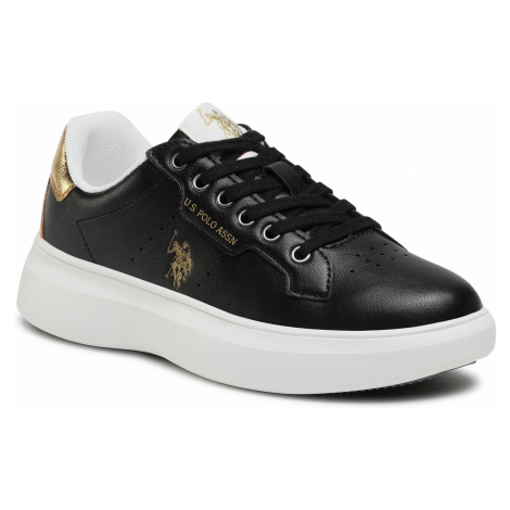 Sneakersy U.S. POLO ASSN. - Jewel029 JEWEL4029S1/Y2 Blk/Gold