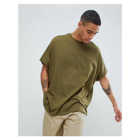 ASOS DESIGN extreme oversized t-shirt in green